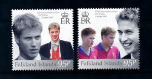 [72070] Falkland Islands 2003 21st Birthday Prince William  MNH