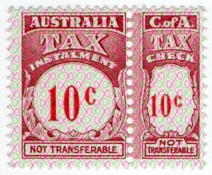 (I.B) Australia Revenue : Tax Instalment 10c