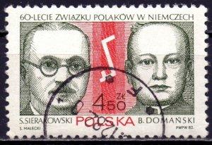 Poland. 1982. 2815. German Poles Union. USED.