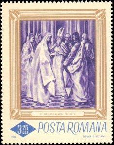 Romania #1859-1864, Complete Set(6), 1966, Art, Never Hinged