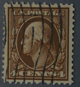 United States #377 4 Cent Washington Used