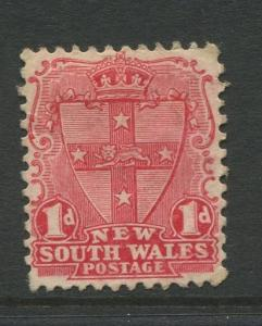 New South Wales- Scott 98 - Definitive Issue -1897- MNG - 1p Stamp