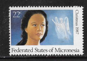 MICRONESIA, 58, MNH, CHRISTMAS '87