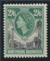 Northern Rhodesia  SG 71 SC# 71 MLH- see details