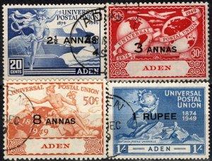 Aden #32-5   F-VF Used CV $8.45  (X1233)