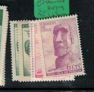 Chile Easter Island SC 347-9 MOG (8exv)