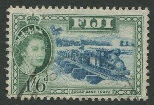 STAMP STATION PERTH Fiji #157 QEII Definitive Issue Used 1954 CV$1.20
