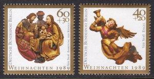 GERMANY SCOTT 9NB275-9NB276