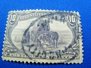UNITED STATES,  1898   SCOTT #290   -   Used