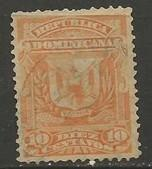 Dominican Republic 91 VFU ARMS W196-1