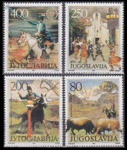 1987 Yugoslavia 2251-2254 Horses 3,00 €