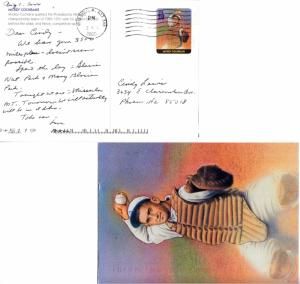 United States U.S. Government Postal 20c Mickey Cochrane Legends of Baseball ...