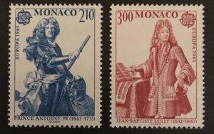 Monaco 1985 #1464-65, MNH, CV $4.75