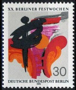 Berlin 1970, Berlin Festival VF MNH, Mi 372