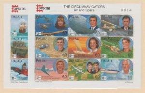 Palau Scott #389-390 Stamps - Mint NH Souvenir Sheet