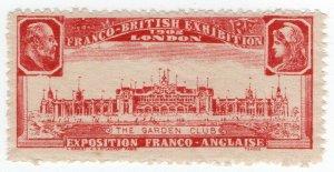 (I.B) Cinderella Collection : Franco-British Exhibition (Garden Club)