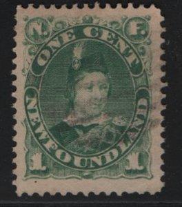 NEWFOUNDLAND, 44, USED, 1880-96,QUEEN VICTORIA
