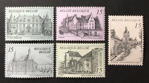 Belgium 1993 #1494-8, MNH, CV $4.75