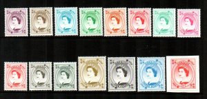 Gibraltar #779-793  Mint  Scott $23.55