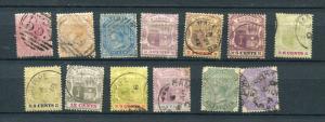 Mauritius Great Britain  1863-80 Accumulation Used