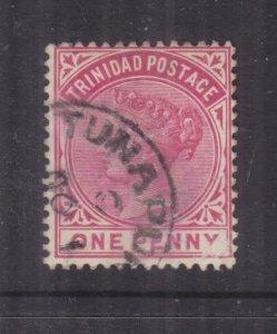 TRINIDAD, TUNAPUNA cds., c1895 QV 1d. Red.