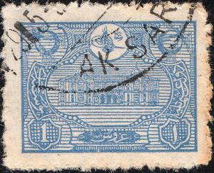 TURQUIE / TURKEY - ca.1913 AK SARAI (Anatolia) DS (C3 C&W unlisted) on Mi.216A