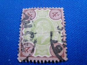GREAT BRITAIN - SCOTT # 133  - Used    (alb12)