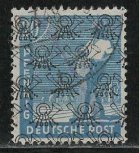 Germany AM Post Scott # 624, used