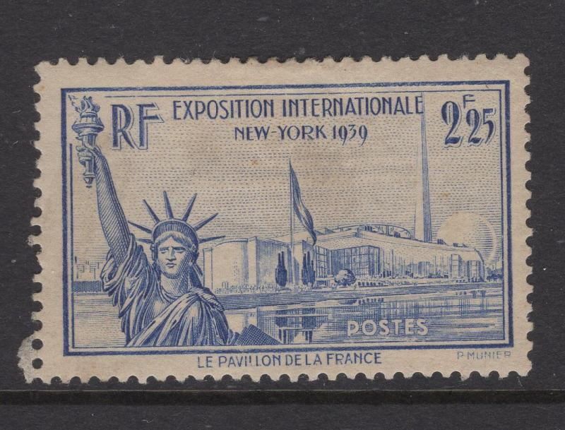 France 1939-40 Stamps Statue of Liberty Scott 372 MH