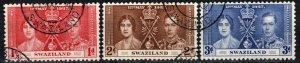 Swaziland #24-6  F-VF Used  CV $2.70 (X1135)