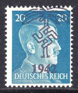 GERMANY 516 AFRIKAKORP 1942 OVERPRINT OG NH U/M F/VF