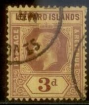 Leeward Islands 1912 SC#  Used L156
