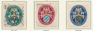 Germany Stamps Scott #B14 To B14, Used, Light Cancels - Free U.S. Shipping, F...