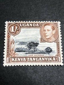 Kenya, Uganda & Tanganyika Scott 80 Mint OG CV $18