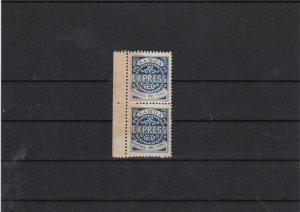 samoa mint with gum stamps pair ref 11639