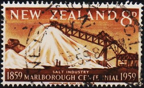 New Zealand. 1959 8d S.G.774 Fine Used