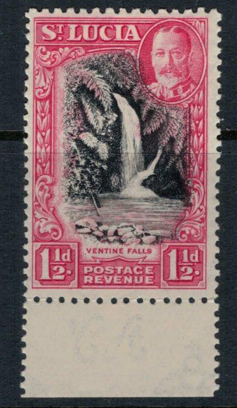 St. Lucia #97a* NH CV $17.50