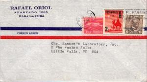 Cuba 1c Proposed Communications Building Postal Tax, 2c The three Wise Men Ch...
