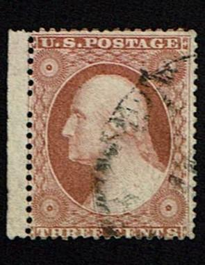 Scott #25 Fine-used. SCV - $175.00