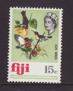 1969 Fiji 15c Sun Birds Mounted Mint SG400