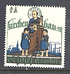 Germany Cinderella Building Fund for St Joseph's Church Augsburg c