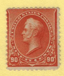 United States Stamp Scott #229, Unused/Mint No Gum, Thin Spots - Free U.S. Sh...