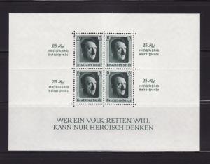 Germany B104 Set MNH Adolf Hitler