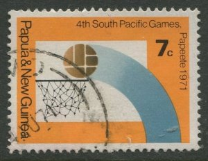 STAMP STATION PERTH Papua New Guinea #328 General Issue Used 1971 CV$0.25