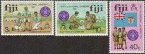 Fiji 1974 SG499-501 First National Scout Jamboree Lautoka set MNH