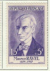 Ravel Frankreich France 1956 15fr fine MH* A16P4F135