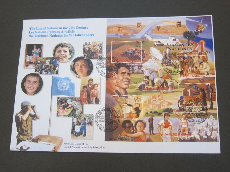 United Nations (Vienna) 2000 Sc 278 FDC