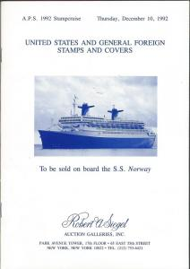 APS 1992 Stampcruise - United States and General Foreign Sta