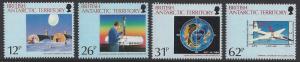 British Antarctic Territory #176-9 MNH set, Antarctic ozone hole, issued 1991