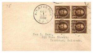 1930 N.Y. & Far Rock R.P.O.Railroad #134